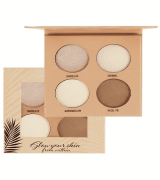 Paleta de Iluminador Glow Your Skin From Within Light Highlight Palette 4 Cores Ruby Rose