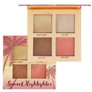 Paleta de Iluminadores Dark Sunset Highlighter 4 Cores Ruby Rose