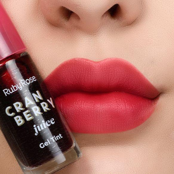 Lip Tint Gel Cramberry Juice Ruby Rose