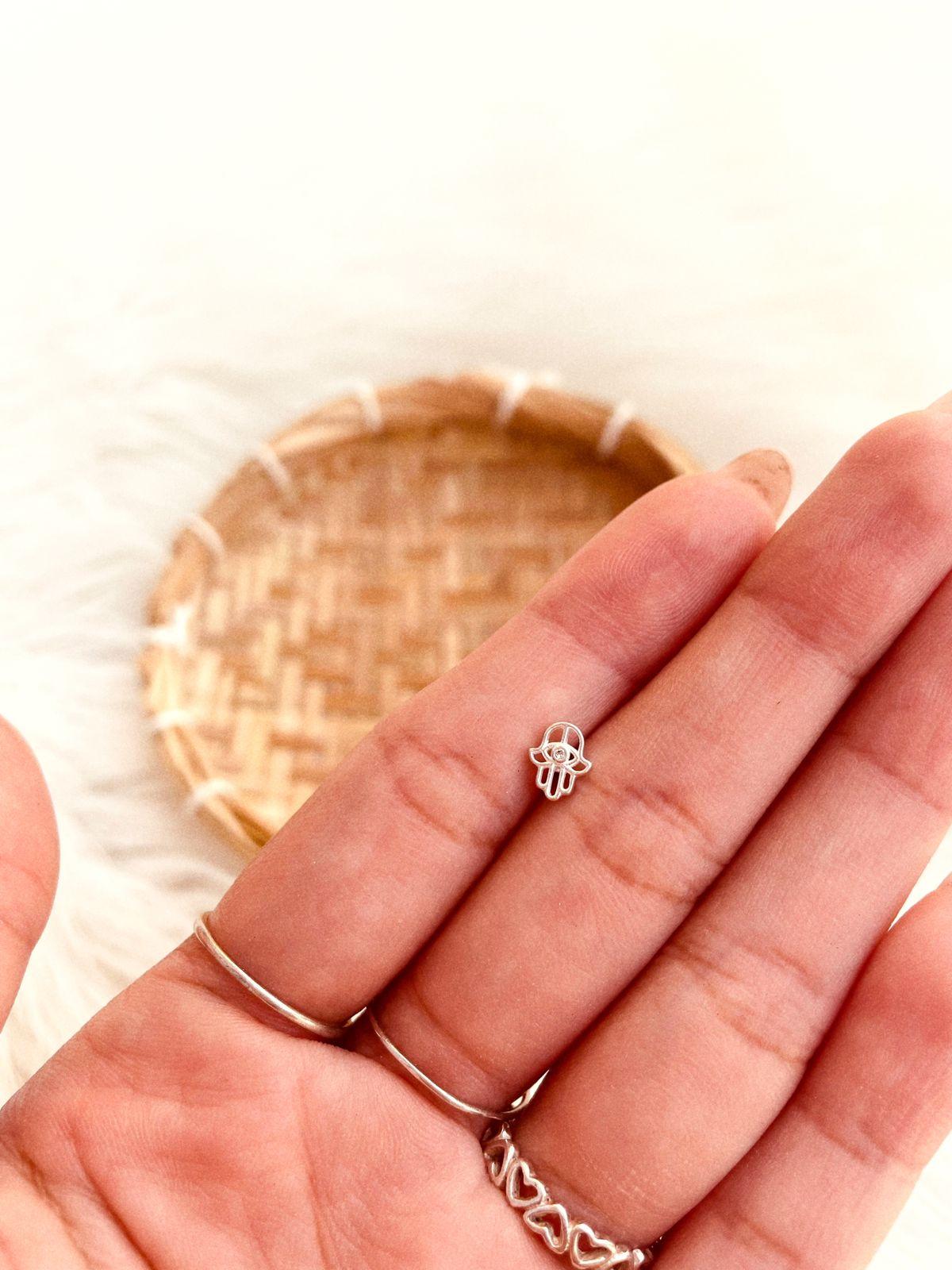 Piercing de Prata Mini Hamsã