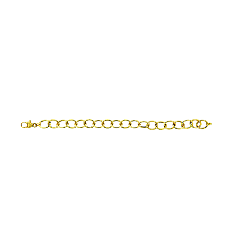 Pulseira de Ouro Amarelo 18K Elos Ovais Cartier