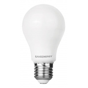 04 x Lampada Led Bulbo E-27 3000K 08W Save SE-215.1517