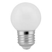 25 X Lampada Led Mini Bulbo G45 E-27 4000k 4,8w Opus Lp36588