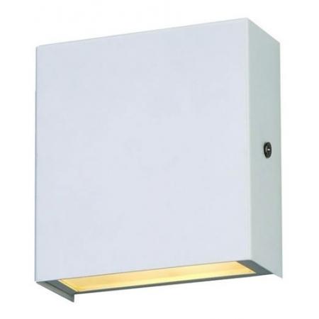 Arandela De Alumínio 11,5cm X 10,5cm Branca - Femarte 581