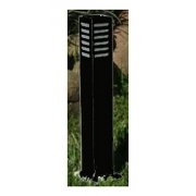 Balizador De Jardim Quadrado 50cm - Germany 14400 Preta