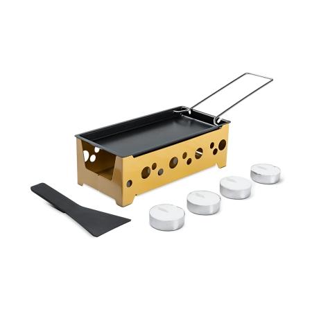 Conjunto de Raclette 7 Peças Brinox 1256/106 Amarelo