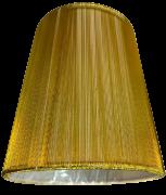 Cupula para Lustre em Fio de Seda Dourada 2278