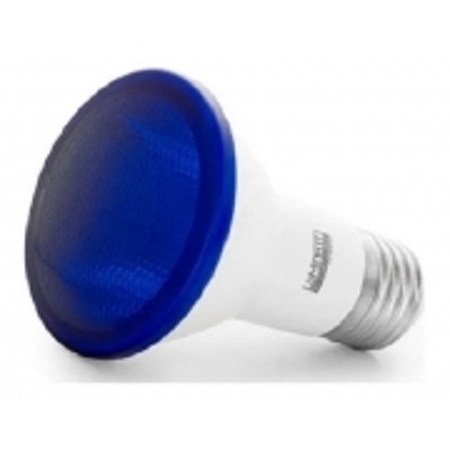 Lâmpada Led Par20 Azul E27 6w Luminatti Lm162
