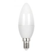 Lampada Led Vela Leitosa E-14 3w 3000k Stella Sth6300/30