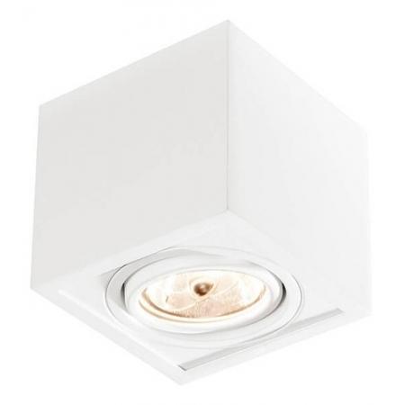 Plafon Box Par16 Gu10 Biv Branco Newline In40121bt