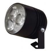 Projetor Led Preto 9w 3000k Biv Directlight 14pww60