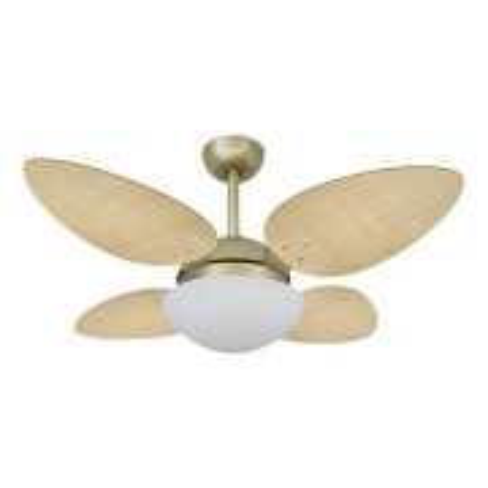 Ventilador Volare Gold Vr42 Petalo Palmae Natural 127v 62545