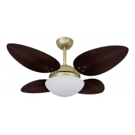 Ventilador Volare Gold Vr42 Petalo Tabaco 127v 63101
