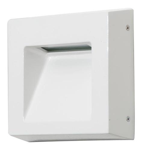 Balizador Parede Quadrado 12,5x12,5x4cm - Femarte 724