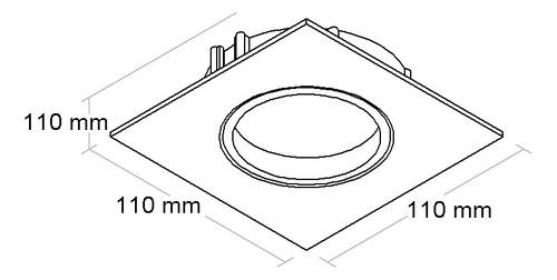 Spot De Embutir Orientavel Par20 Bl1085/1-bf