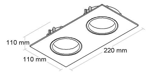 Spot De Embutir Orientavel Par20 Bl1085/2-bf