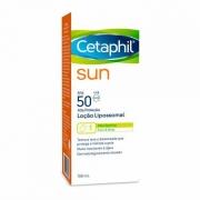 CETAPHIL SUN LOÇÃO LIPOSSOMAL FPS50 150ml - Galderma