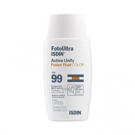 ISDIN ACTIVE UNIFY FUSION FLUID COLOR FPS99 50ml