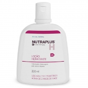 Nutraplus 10% loção 300ml - Galderma, hidratação corporal potente