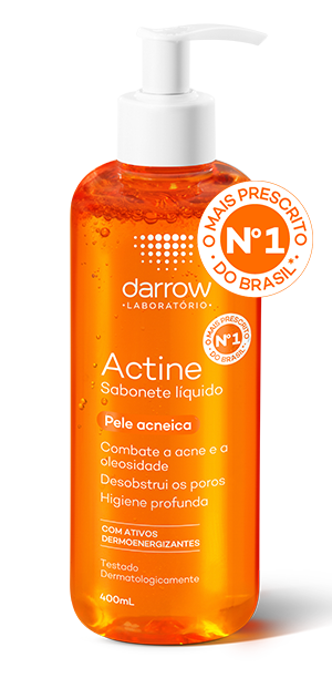 ACTINE SABONETE LÍQUIDO 400ml  - Darrow