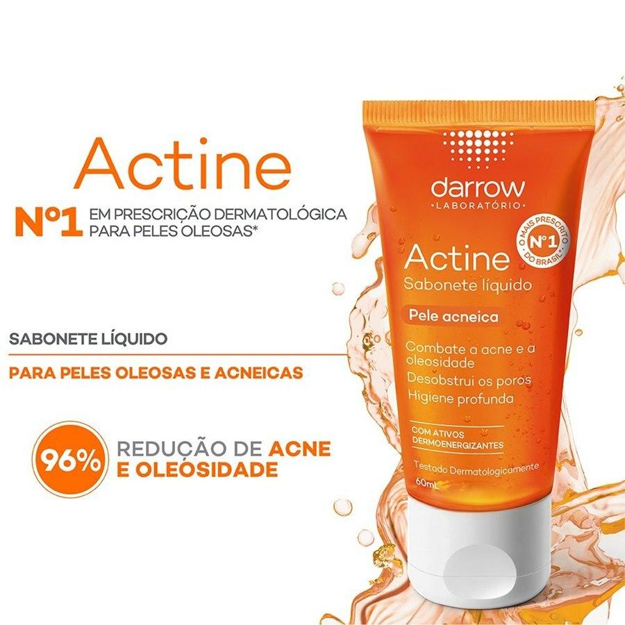 ACTINE SABONETE LÍQUIDO 60ml  - Darrow