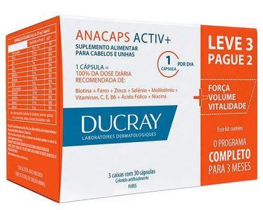 ANACAPS ACTIV 90 CÁPSULAS - DUCRAY