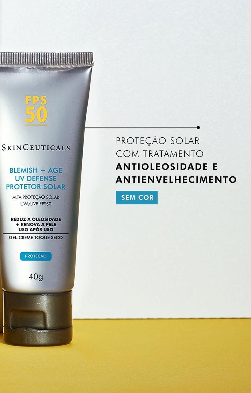 BLEMISH + AGE UV PROTETOR SOLAR FPS50 40g - Skinceuticals