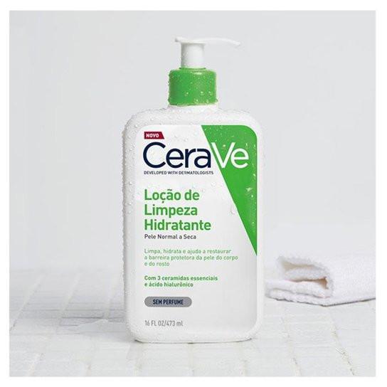 CERAVE LOÇÃO DE LIMPEZA HIDRATANTE (PELE NORMAL A SECA)