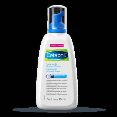 Cetaphil Espuma de Limpeza Suave Facial - 236ml