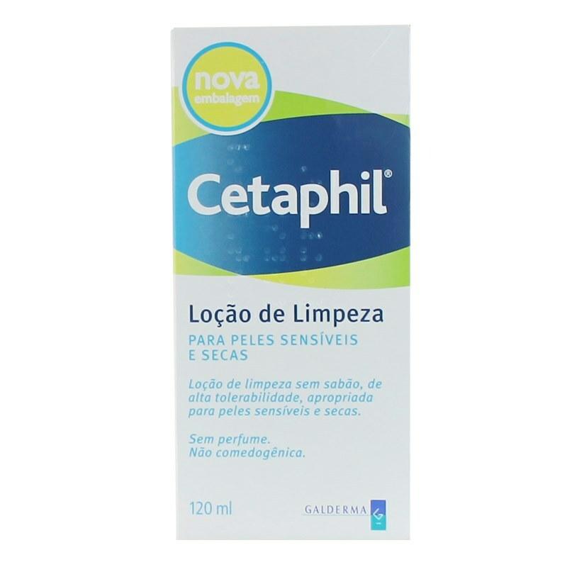 Cetaphil Loção de Limpeza Pele Seca e Sensível 120ml