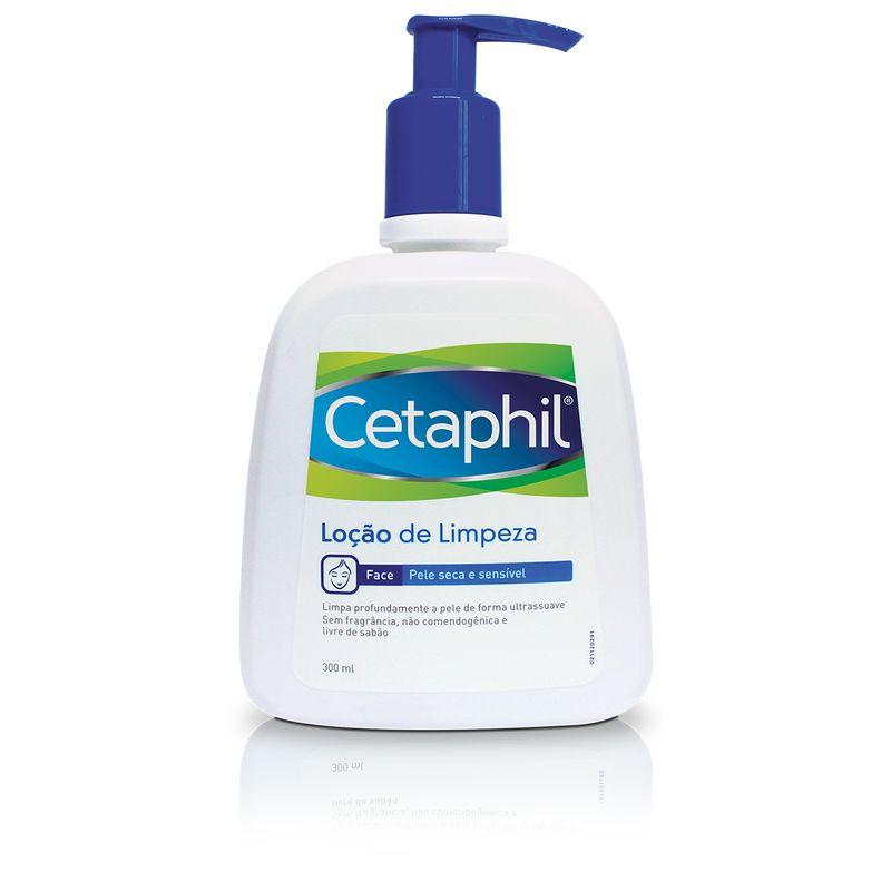 Cetaphil Loção de Limpeza Pele Seca e Sensível 300ml