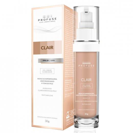 CLAIR GEL-CREME CLAREADOR FPS25 30g - Profuse