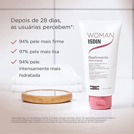 CREME PARA FIRMEZA DA PELE WOMAN ISDIN REFIRMANTE COM 150ML
