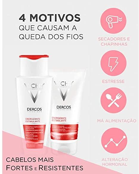DERCOS SHAMPOO ENERGIZANTE 200ML - VICHY