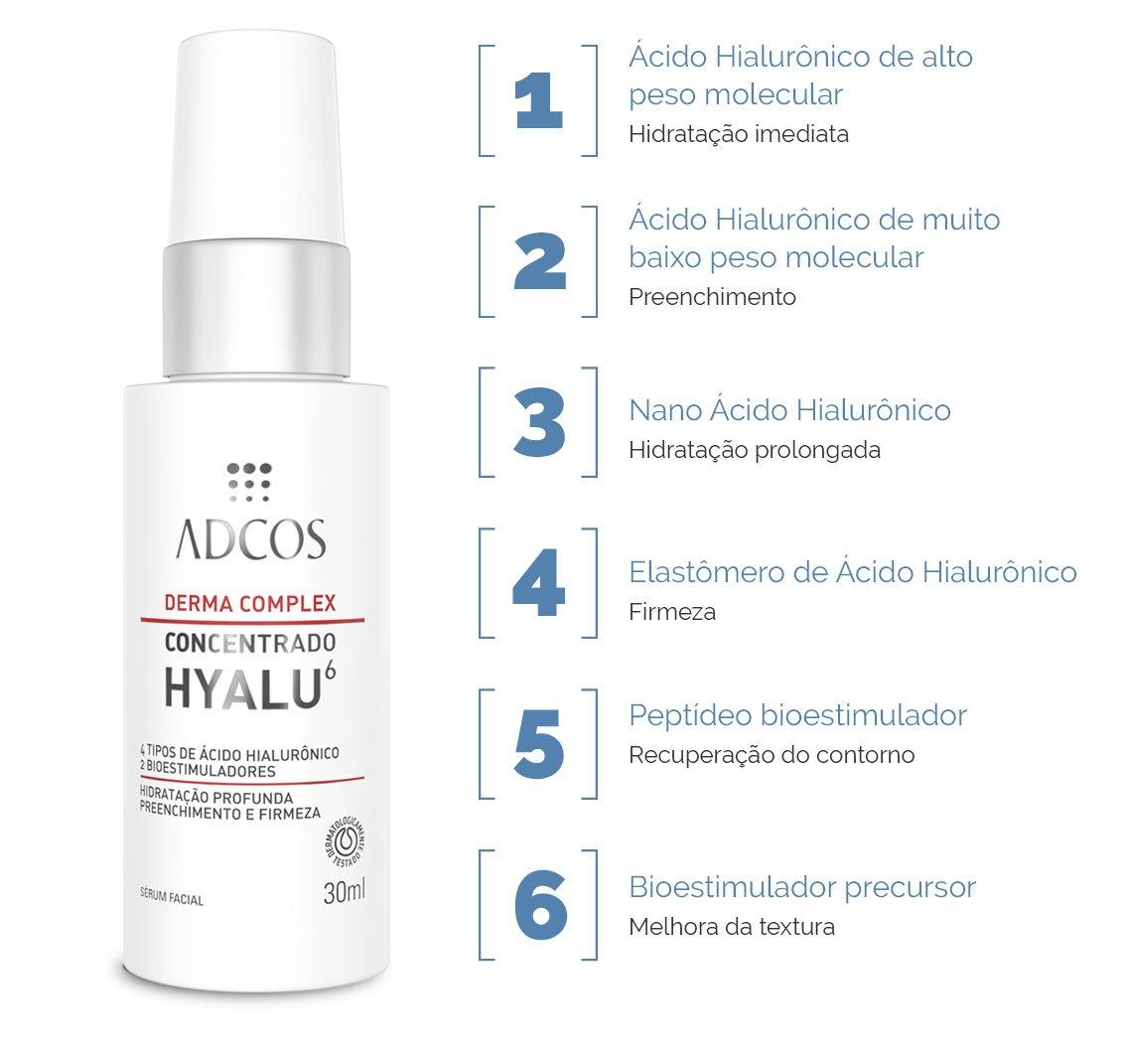 DERMA COMPLEX CONCENTRADO HYALU 6 30ml - Adcos