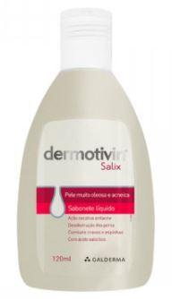 DERMOTIVIN SALIX SABONETE  LÍQUIDO - Galderma 120ml