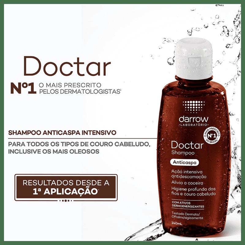 DOCTAR PLUS SHAMPOO ANTICASPA 120ml - Darrow