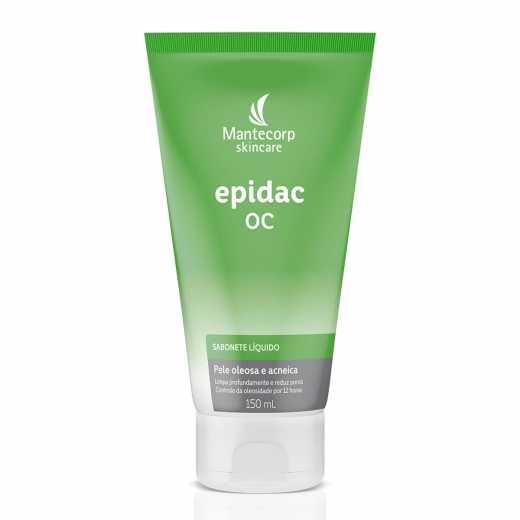 Epidac Oc Sabonete Líquido (oleosa/acneica) 150 ml - Mantecorp