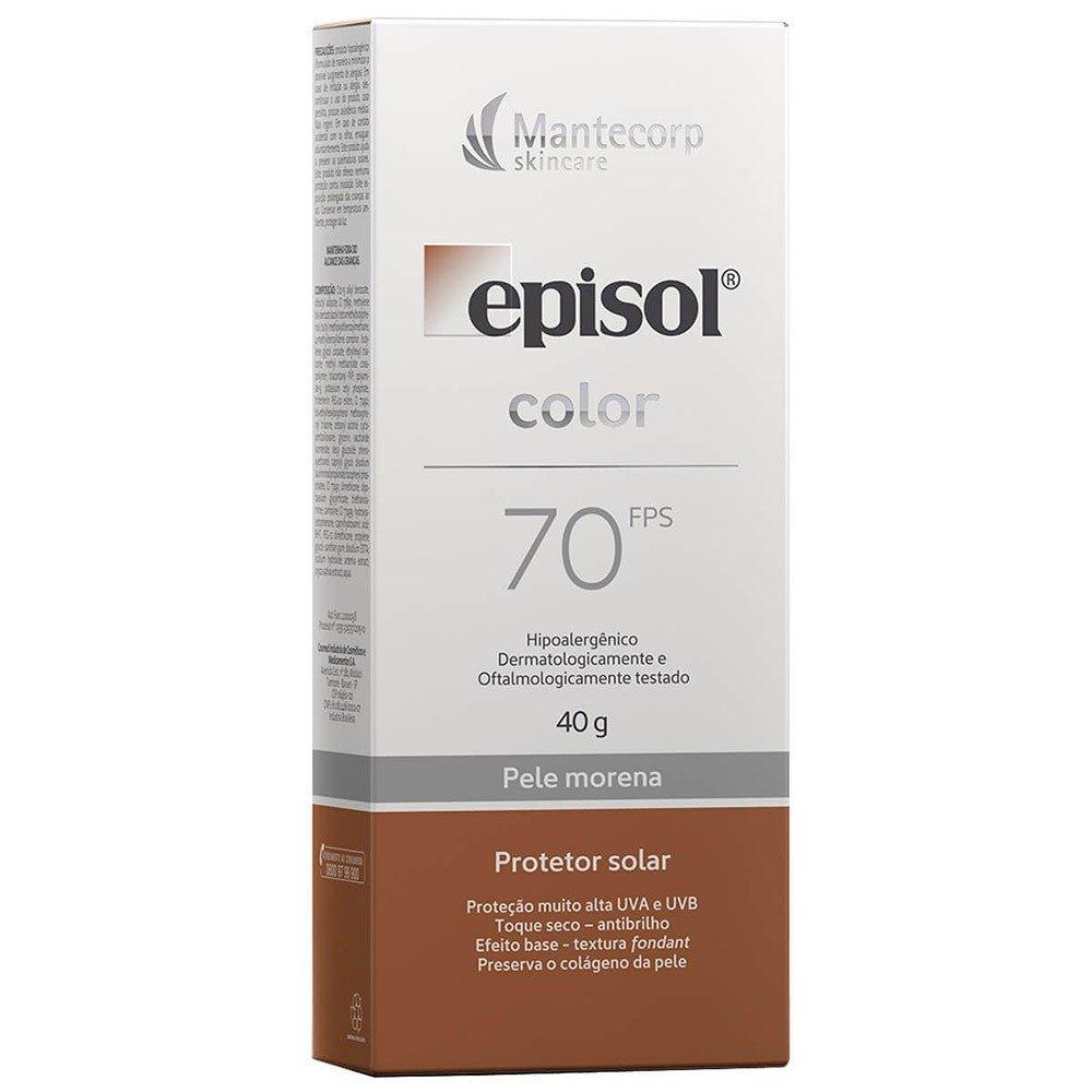 EPISOL COLOR FPS 70 MORENA - MANTECORP