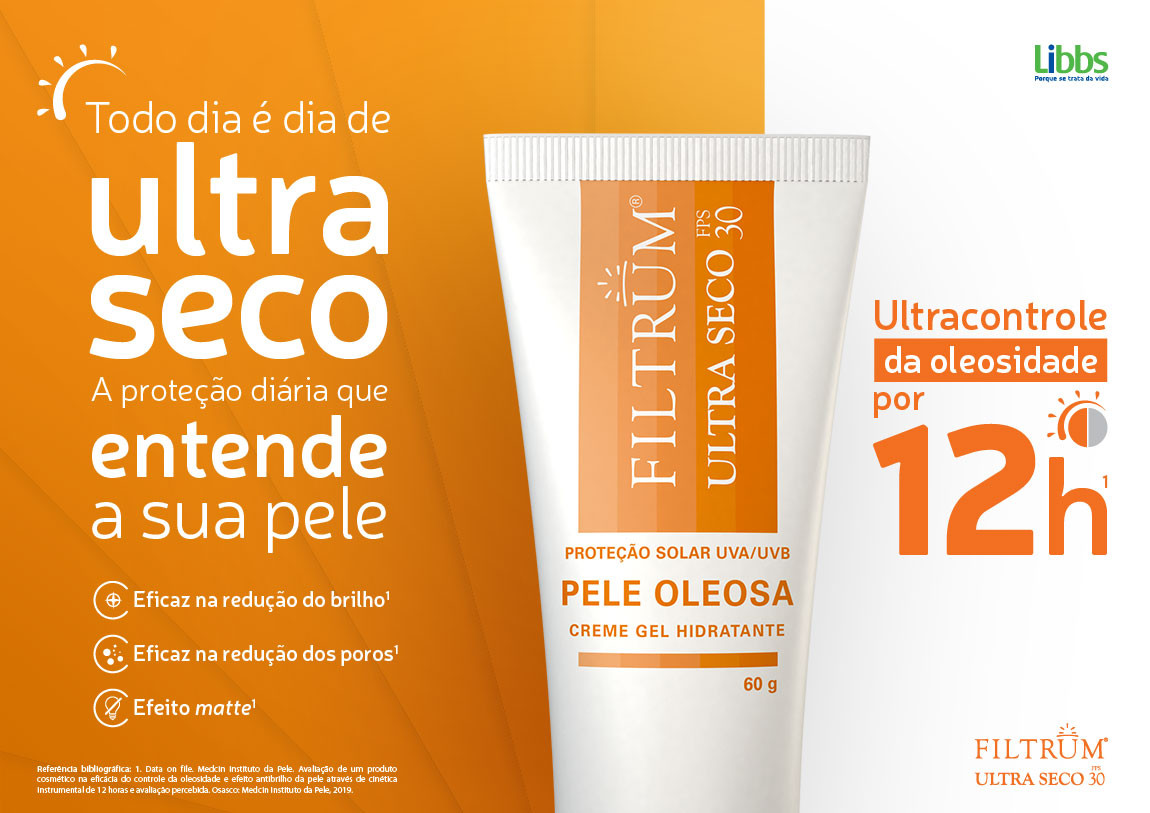 FILTRUM ULTRA SECO FPS30 60g - Libbs