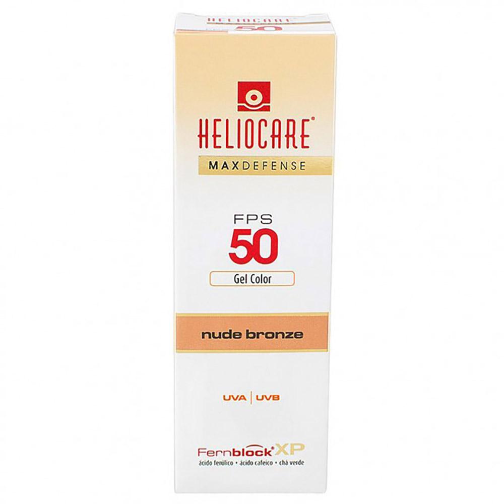 Heliocare Max Defense Nude bronze FPS 50 gel creme color 50g - FQM