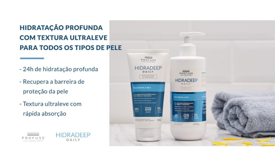 Hidradeep Daily creme hidratante corporal 400ml- Profuse