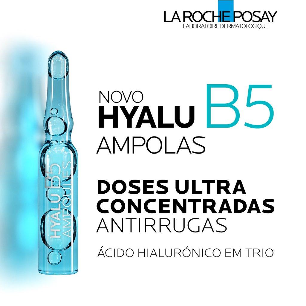 Hyalu B5 ampolas - 7 unidades 1,8ml cada- La Roche Posay, rejuvenescimento