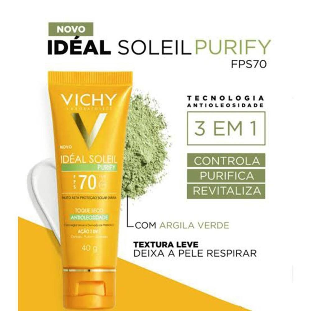 IDEAL SOLEIL PURIFY FPS70 40g - Vichy