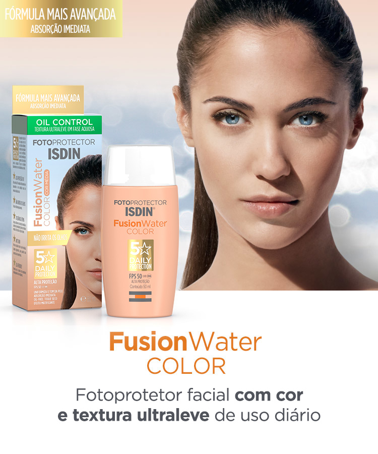 ISDIN FUSION WATER OIL CONTROL COLOR MÉDIA FPS50+ 50ml