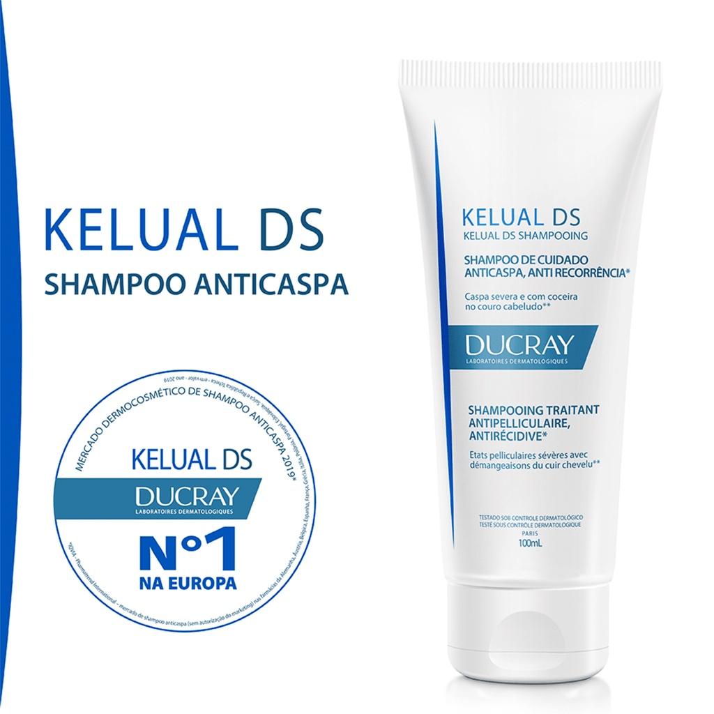 KELUAL DS SHAMPOO DUCRAY 100ml - Ducray