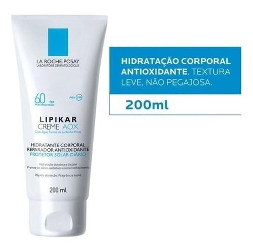 Lipikar AOX FPS 60 hidratante corporal La Roche - posay 200ml