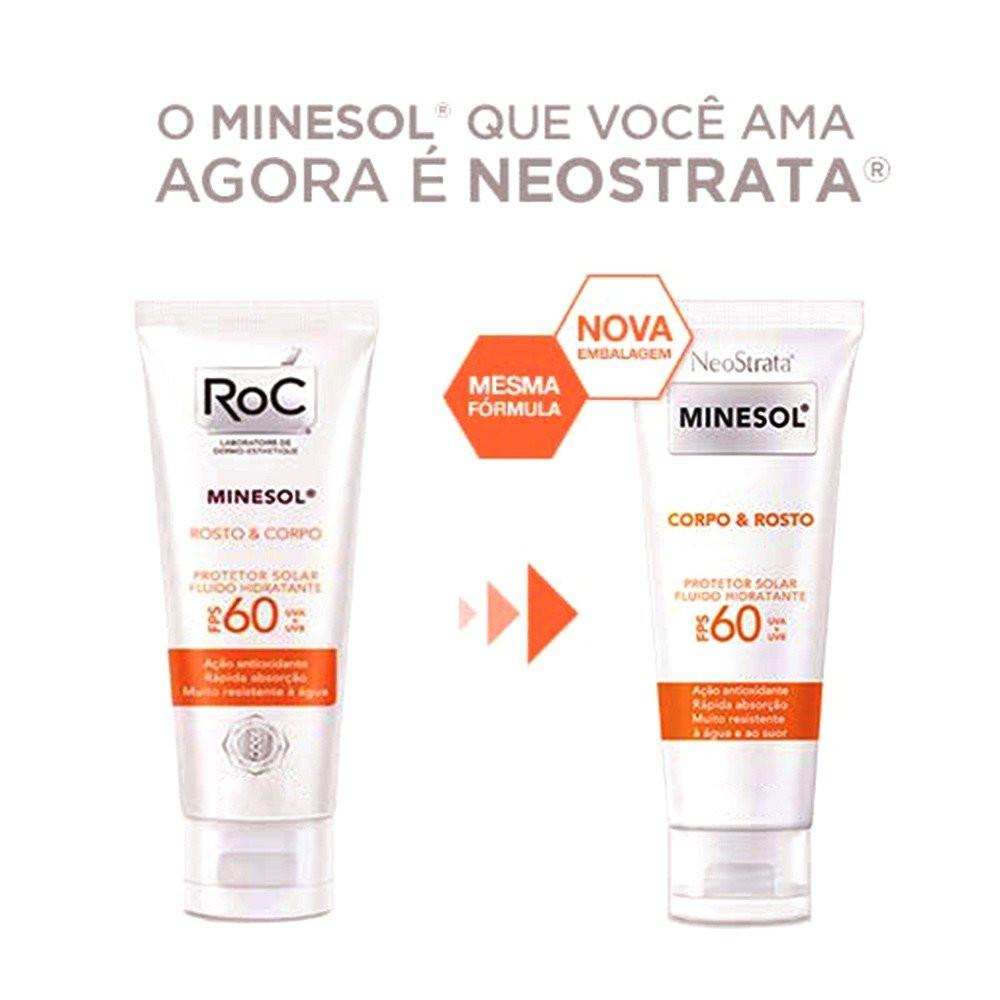 MINESOL CORPO & ROSTO FPS60 200ml - Neostrata