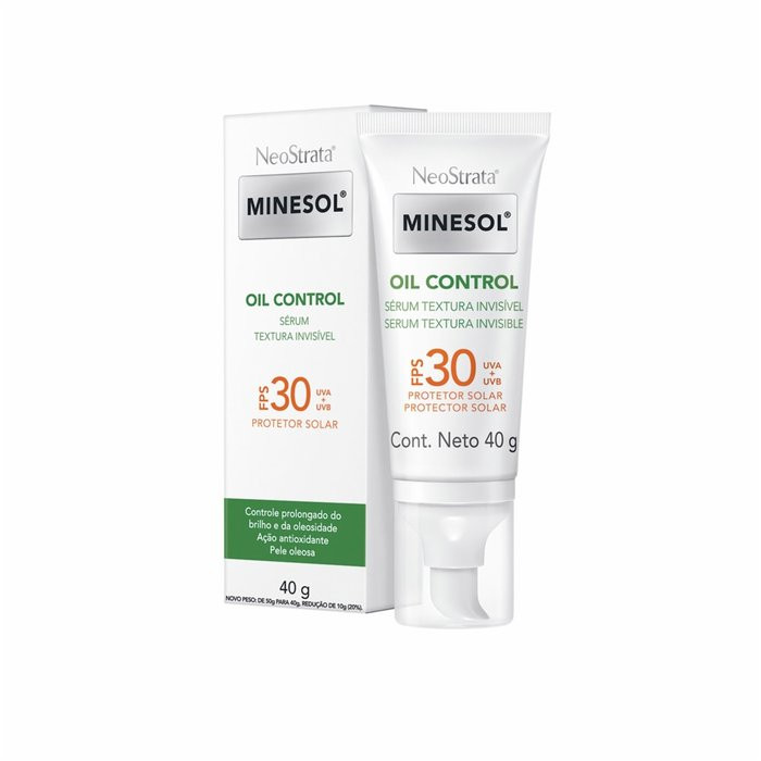 MINESOL OIL CONTROL ANTIOXIDANTE SÉRUM FPS30 40g - Neostrata