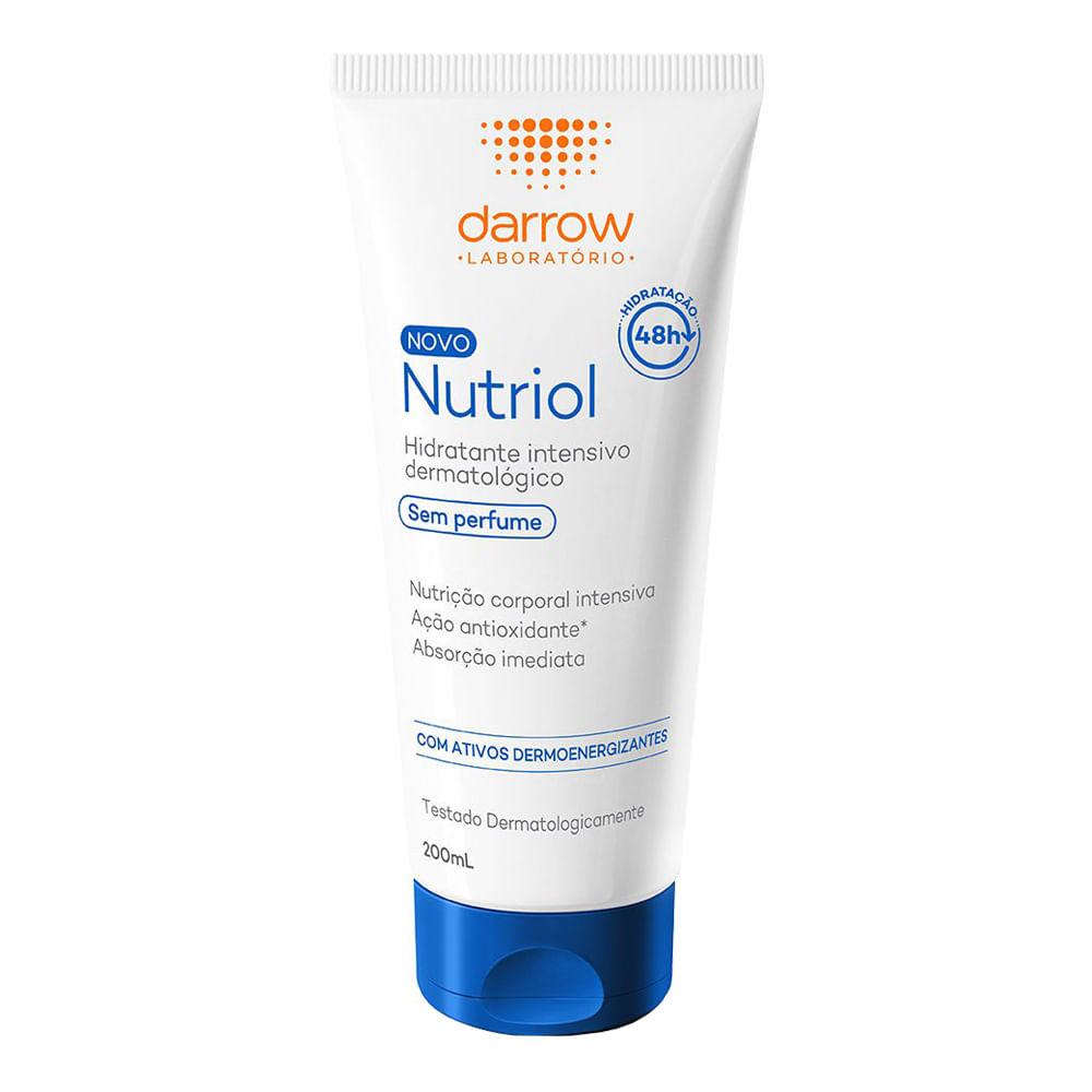 Nutriol Loção hidratante sem perfume 200ml - Darrow